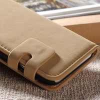 2014 Latest New Arrival Pouch Leather Custom Cover Case for iphone 6 4.7 Inch