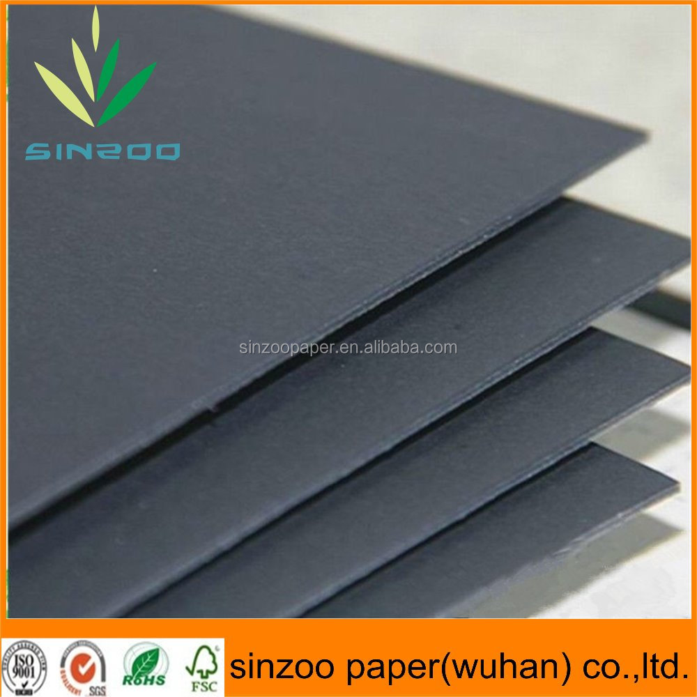 Uncoated laminated black color tracing paper with pure wood pulp