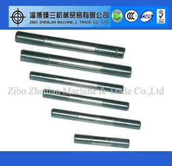Fasteners manufacturers stud bolt double headed bolt astm a193 gr b7