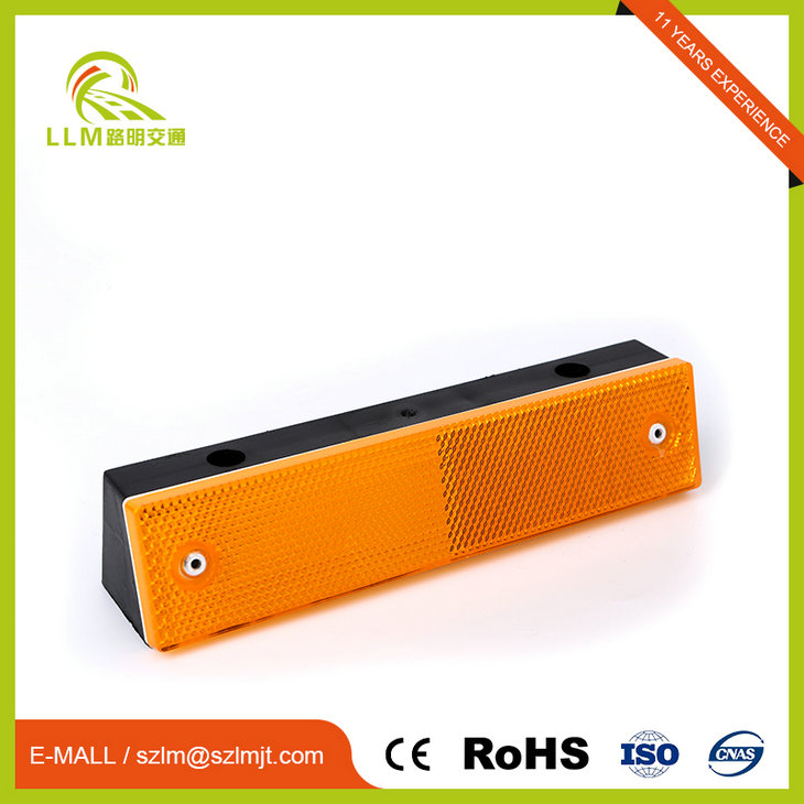 Good price rectangular highway road reflector guardrail reflector