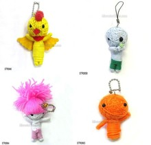 high quality revenge custom pull string voodoo doll with chain for sale