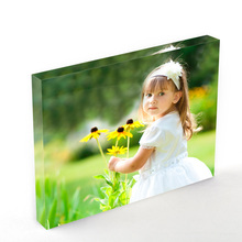A5 A6 A7 Clear Acrylic Photo Block Picture Frame Wholesale