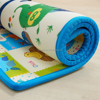 extra thick 2cm durable soft XPE eco kid's play mat waterproof roll-up pe mat
