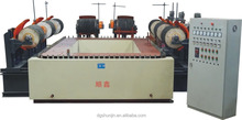Eight gringing head rectangular conveyor automatic polishing machine