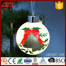 Hand painting wholesale glass ball for Xmas tree