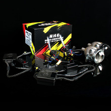 NHK VIP HID bi-xenon retrofit kit version 4 plug Q5 projector 35W 5500K 21mm bulb G3 ballast OEM auto headlight retrofit