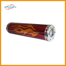 Hot sale high quality motorcycle parts exhaust pipe wholesale dragon