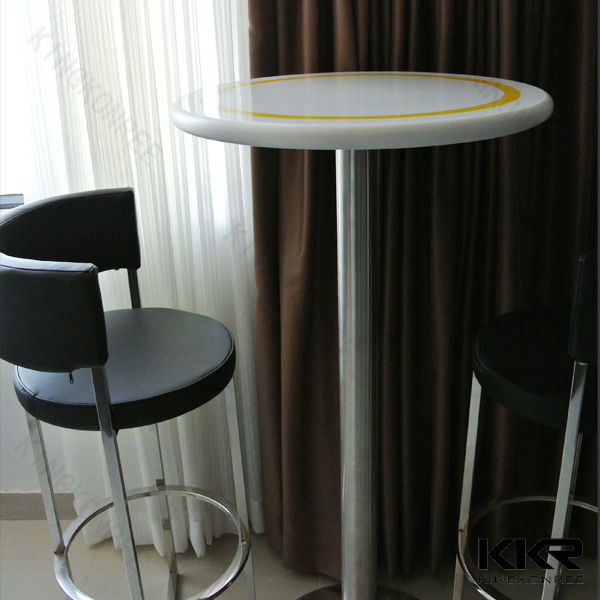 elegant marble top coffee table for cafe use