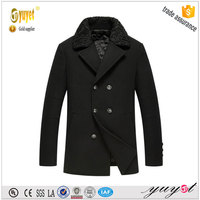 modern top warm hot sale yarn dyed leather down coat