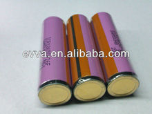 2600mAh Rechargeable Flashlight Torch Battery with Transparent PVC for Samsung ICR18650-26F Protected