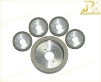 Vitrified Bond Diamond Cup Grinding Wheel for PCD Cutting Tools