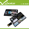 cheapest next day shipping best design slim card usb flash drive for promotion