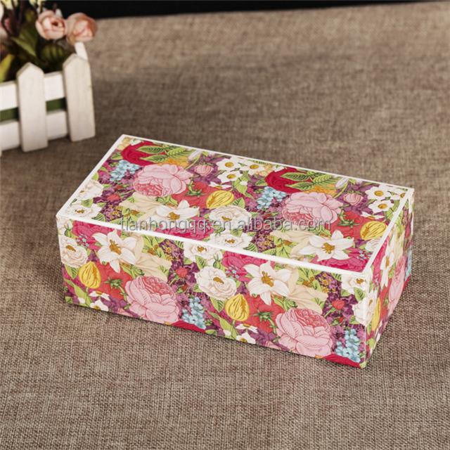 Custom Scented Tea Packaging Boxes Wetproof Paper