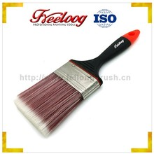 China products wall decorative oil paint brush, professional flat filament paint brush