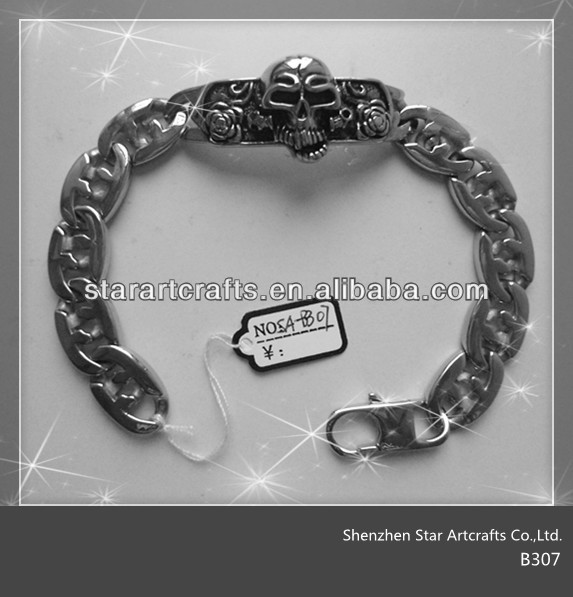 B307 ID bracelets for men, sign bracelets for men, fashion bracelets for men