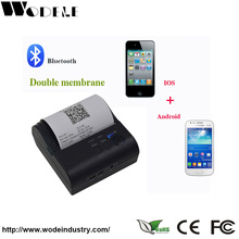 80mm Mobile Bluetooth Barcode Printer,Mini Wireless Thermal Printer