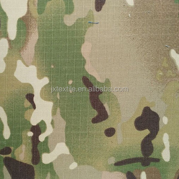 multicam camo fabric, rip stop camouflage clothing fabric T/C 65/35 21s*21s 108*58 army camouflage fabric