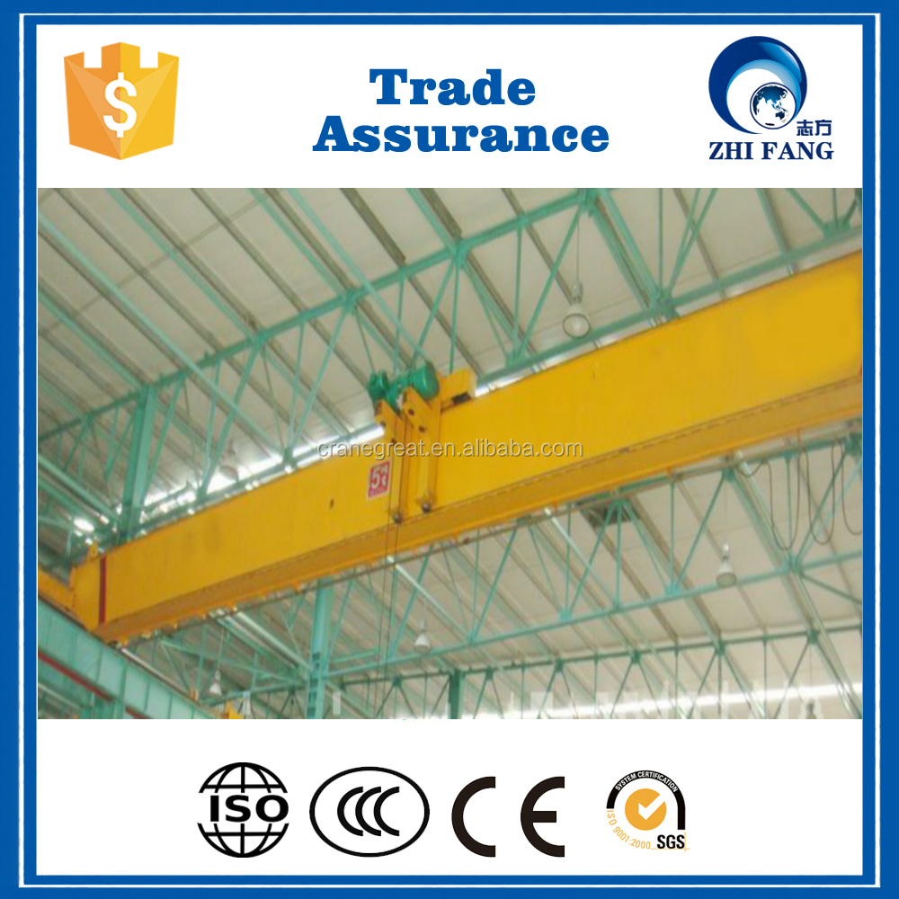 China Supplier 5 Ton Single Girder Overhead Bridge Crane