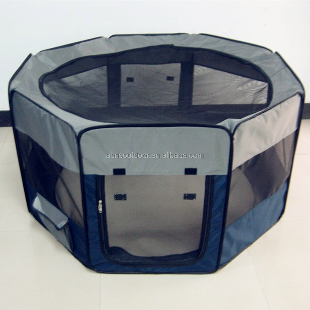 Pop up eight panel pet playpen folding pet playpen cage house