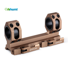 Wholesale Price Golden 25.4mm 30mm Rifle Scope Ring mount with Quick Detach Auto Lock System