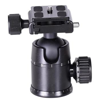 Sunrise Professional Universal Aluminum Flexible Fluid Mini Camera Tripod Ball Head