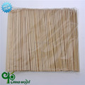 healthy long and thick 100% birch wood stick / skewers for bbq set