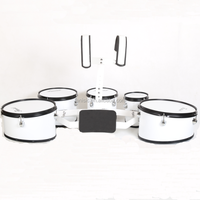 5 piece marching drums, marching drum set standard model, marching snare drum with carrier
