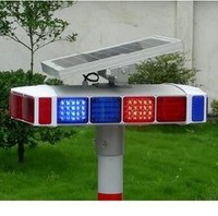 Super Led solar colorful light four high way road,Solar led flashing traffic light for high way road