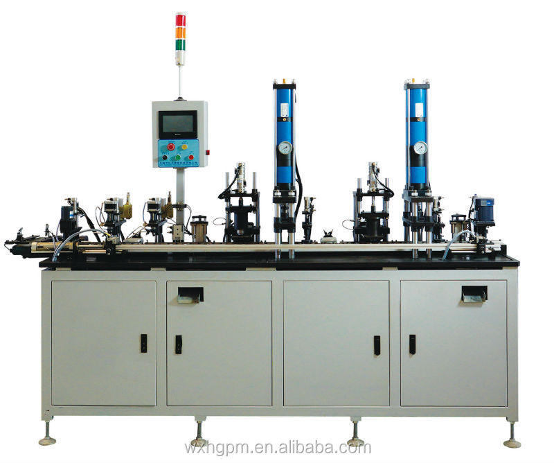 Automatic Greasing, Shielding and Grease Lubricating Machine with Weighing Inspection