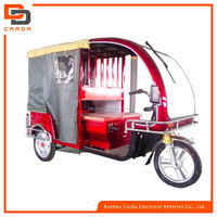 2016 popular good quality electric tricycle e-rickshaw/taxi for passenger made in China