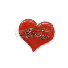 2013 new product customized lovers' metal badge