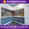 Alibaba furnitures Latest Modern modular high gloss kitchen cabinets with unti scratch design