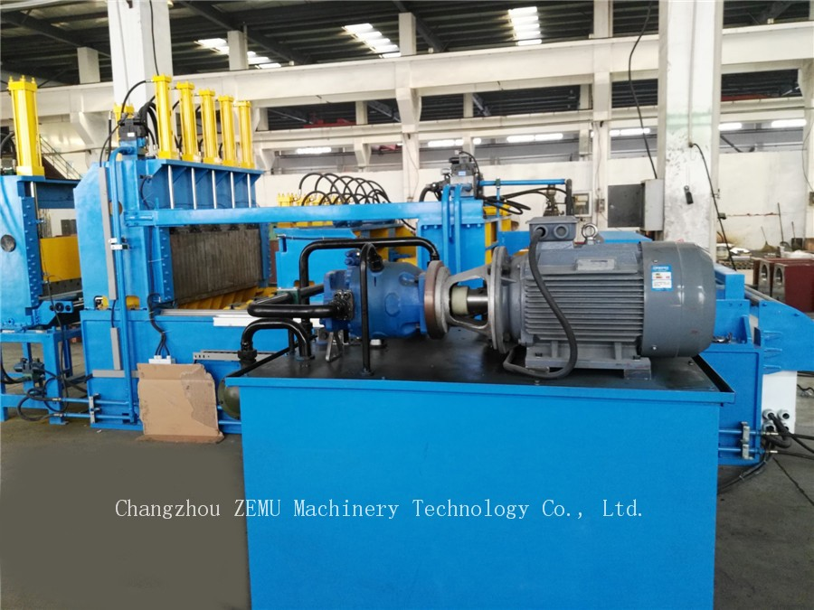 Transformer Corrugated Fin Tank Making Machine