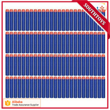 7.2cm Refill foam Bullet Darts for Nurf Air Soft Gun Kid Toy Gun