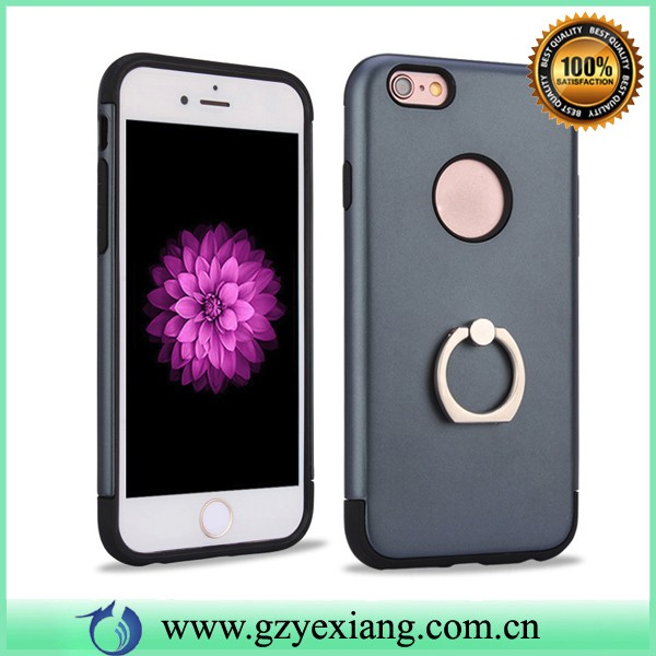 wholesale ring phone holder protective case for samsung galaxy j1 2016 pc tpu hybrid cover