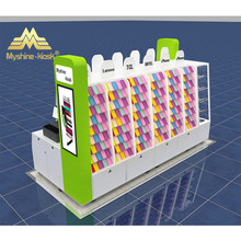Mall kiosk for mobile phone accessories cellphone accessories kiosk