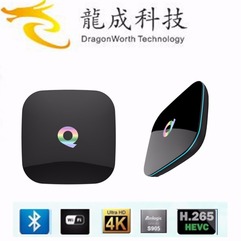 firmware update amlogic s905 q box android tv box 2GB DDR3 RAM 16GB EMMC 2GB DDR3 RAM 16GB EMMC smart android tv box