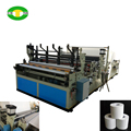 Automatic machines for the production of toilet paper