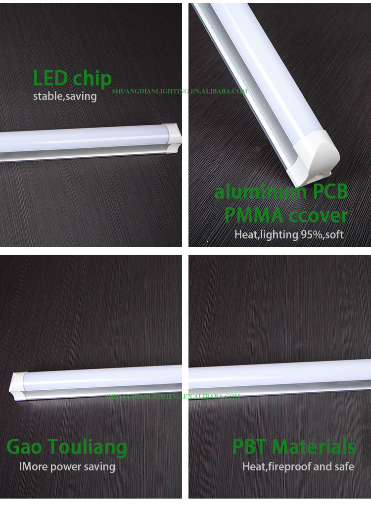 China wholesale product CE RoHS approved led energy saving tube lamp T8