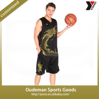 2015 Wholesale new style latest basketball jersey design