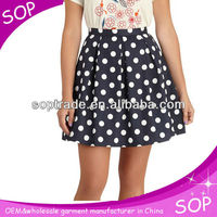 Top fashion design A line new print skirt 2013 Guanghzou