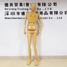 DL71 180CM Height Full body wooden doll for men, new arrival fashion wooden mannequin on sale