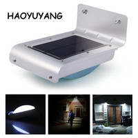 Smart Solar LED Motion Sensor Wall