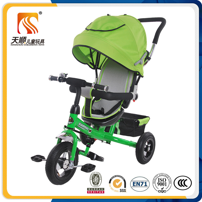2017 Baby tricycle stroller kids trike three wheels pedal toy car for child