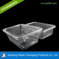 Disposable Biodegradable PLA PETG Plastic Fruit Tray Dongguan Wholesale