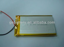 wholesale price 3.7v 4000mah 855085 rechargeable tablet pc li-polymer 4000mah battery