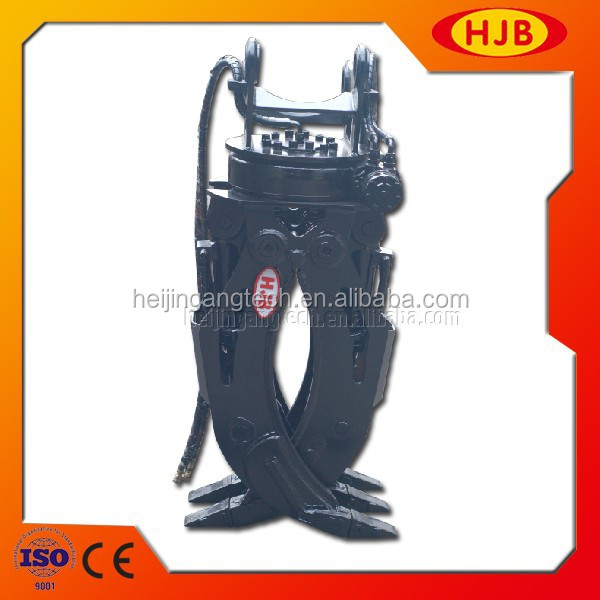 Loader Excavator Hydraulic Wood Grapple for Sale