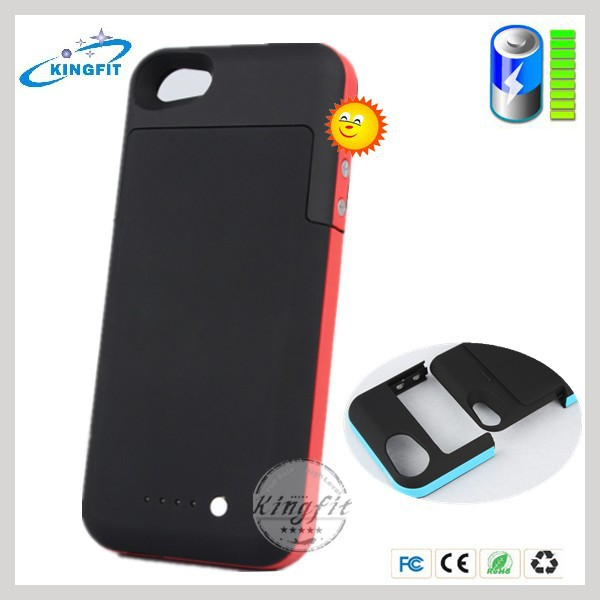 Wholesale Ultra Slim Backup Rohs Battery Case for Iphone5 for Iphone 5S