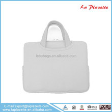 "13"" Laptop Sleeve With Plug in Zipper Customized Neoprene Laptop Case Wholesale"