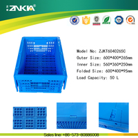 hot new heavy duty moving plastic box with sliding lid